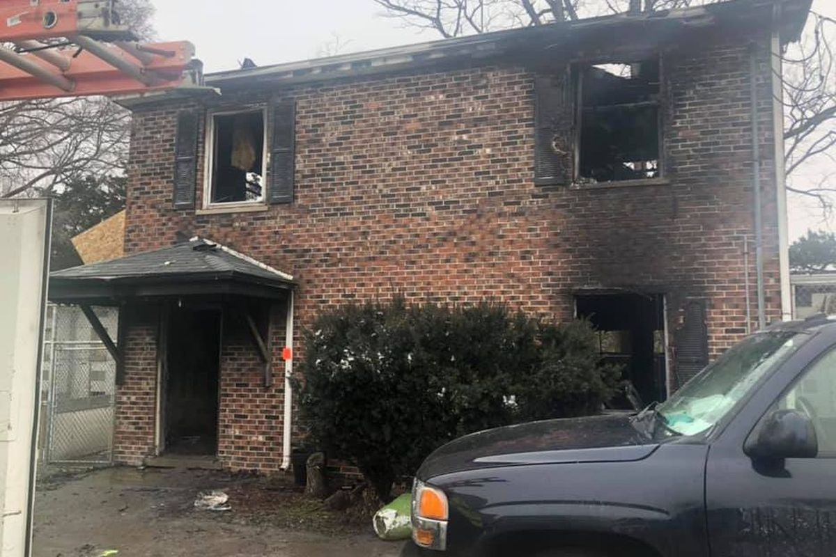 D & D Kennels in West Chicago after fire