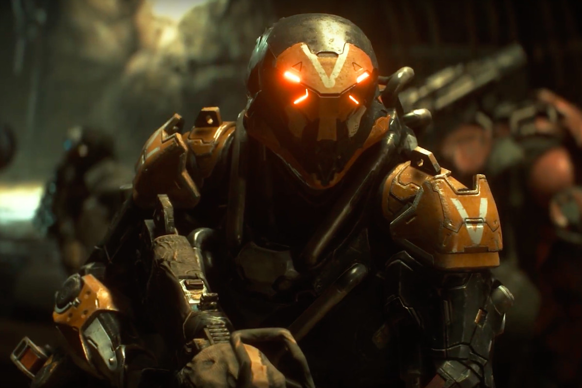 watch four minutes of new anthem gameplay from e3 2018 the verge