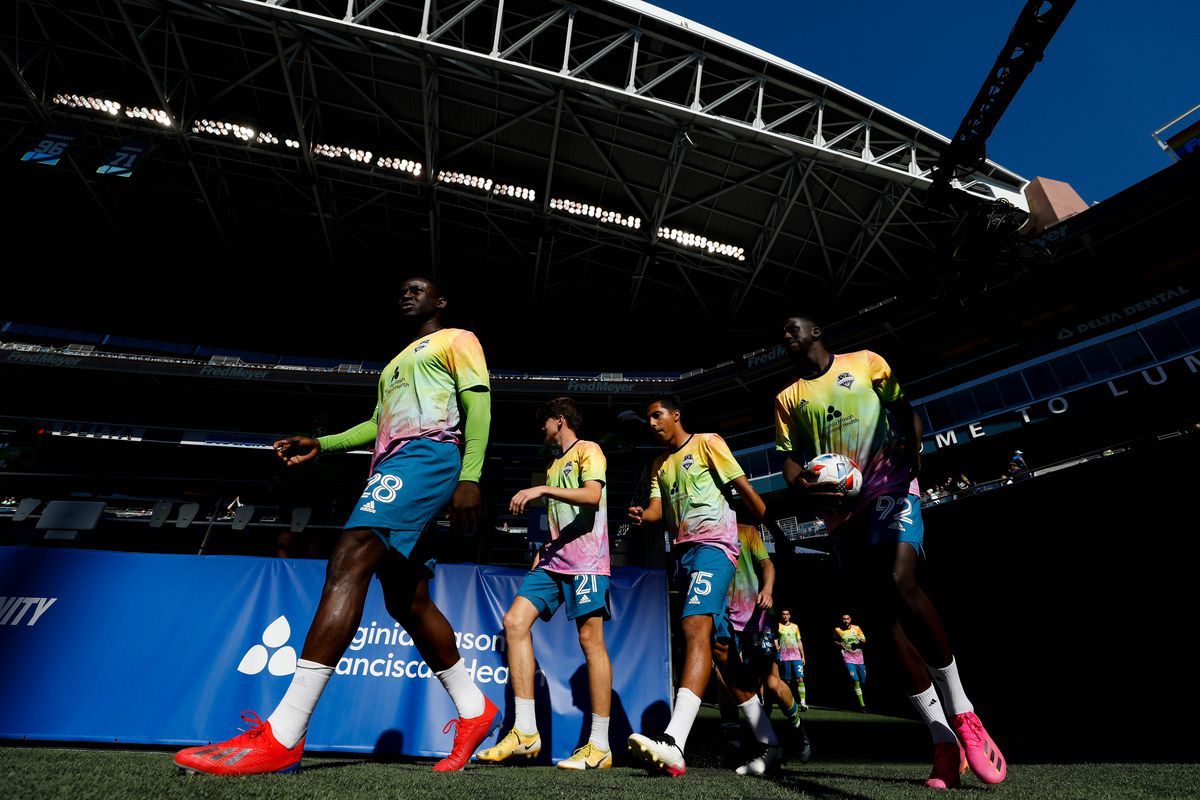 MLS: Vancouver Whitecaps FC at Seattle Sounders FC
