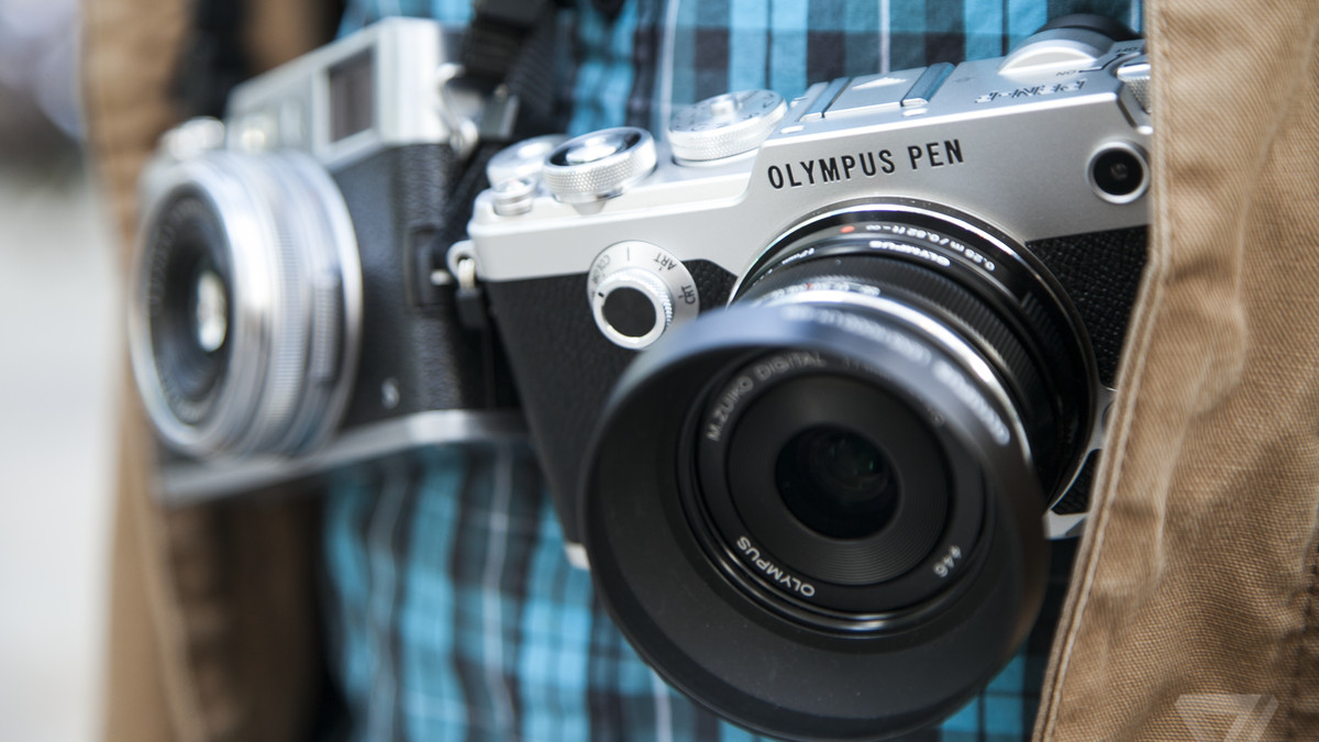 olympus pen f review a marvelous marriage of old and new the verge