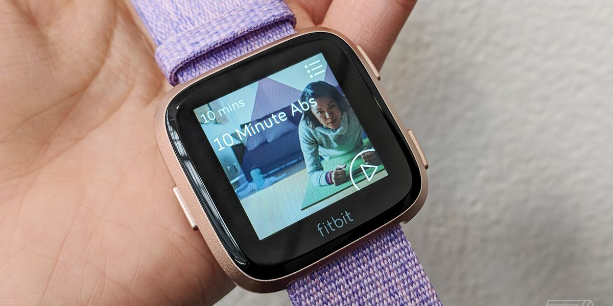 Fitbit takes a second swing at smartwatches with the $199 Versa