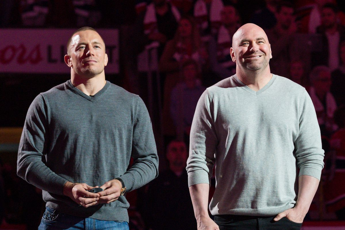 Triller is willing to make a hefty charitable donation if the UFC clears the Georges St-Pierre-Oscar De La Hoya boxing match.