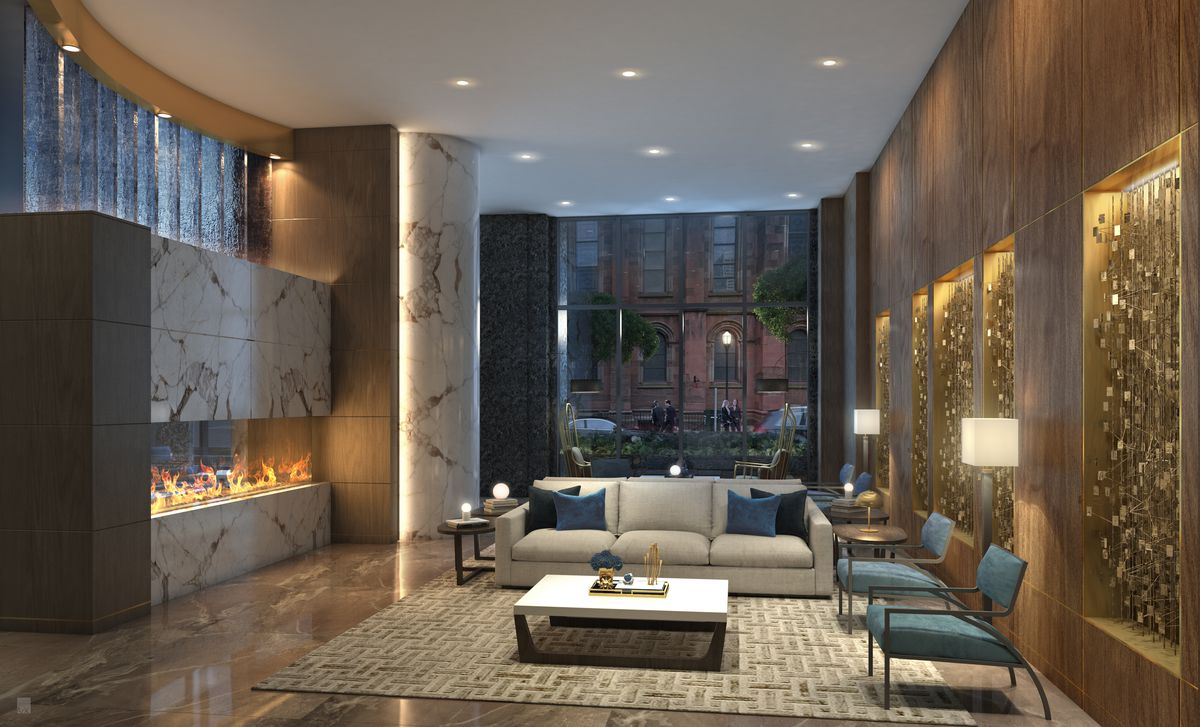 That is until last week when southern land company released updated renderings of the lobby the amenity story on the 26th floor and the condos