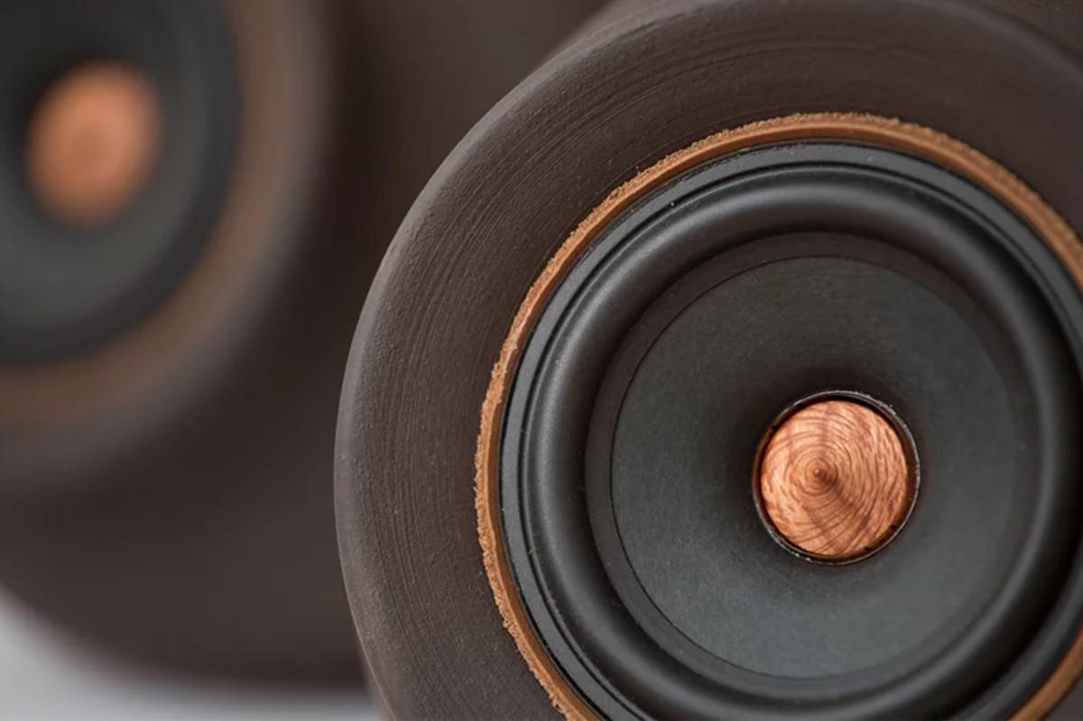 Detail shot of speaker