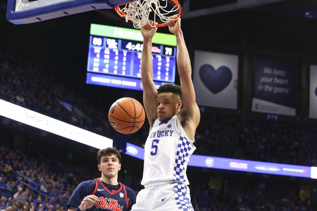 NCAA Basketball: Mississippi at Kentucky
