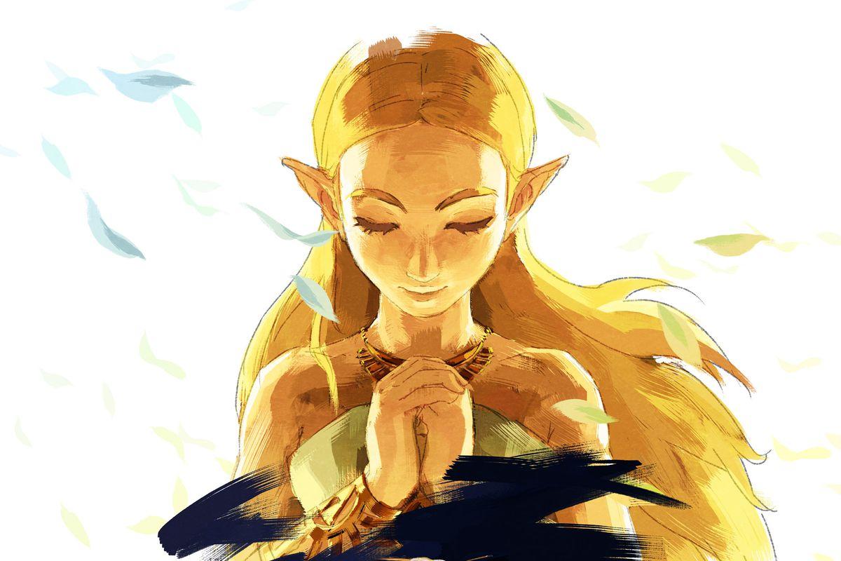 The Legend of Zelda: Breath of the Wild artwork Nintendo