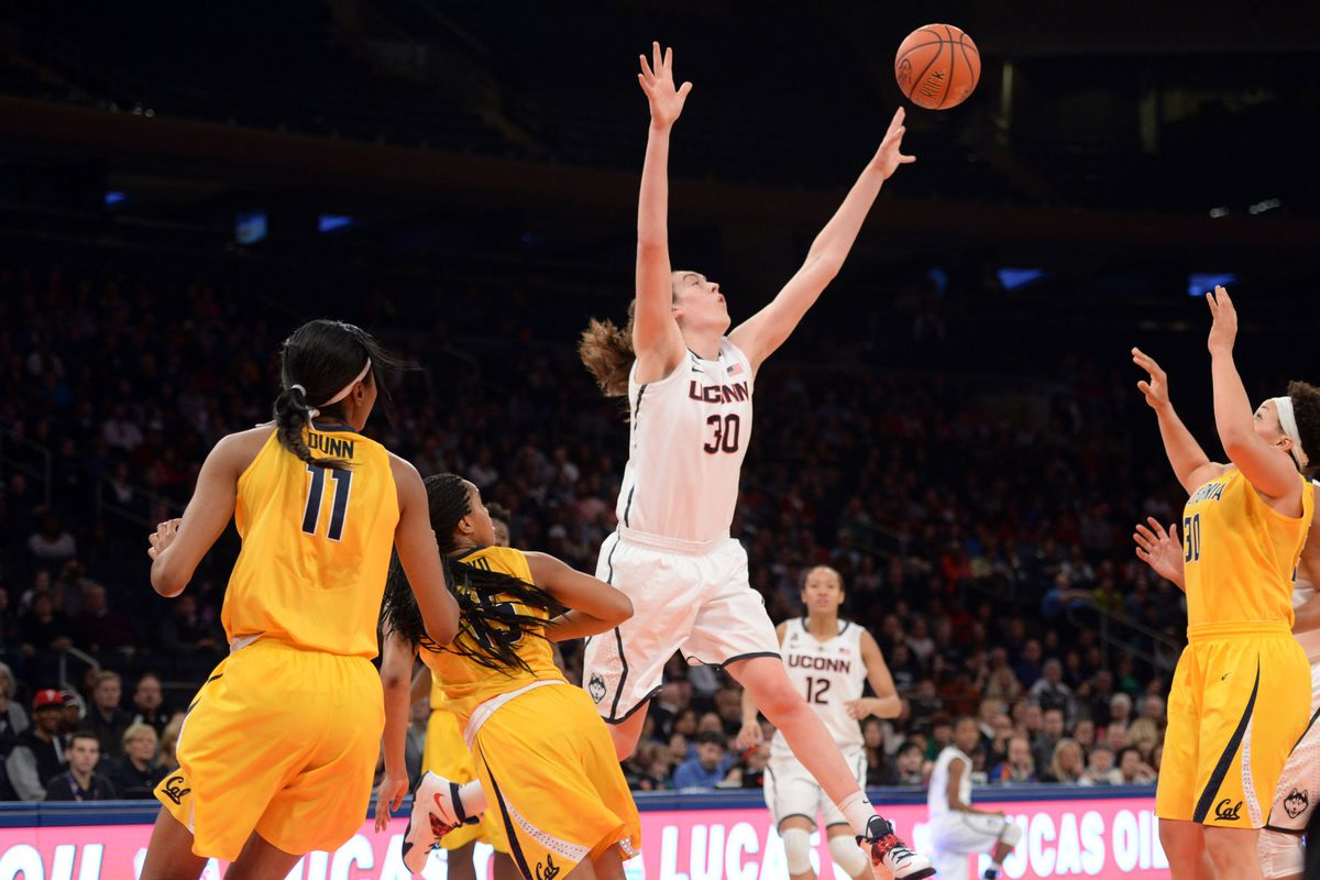 Breanna Stewart played at a higher level than the rest of the players on the court today.