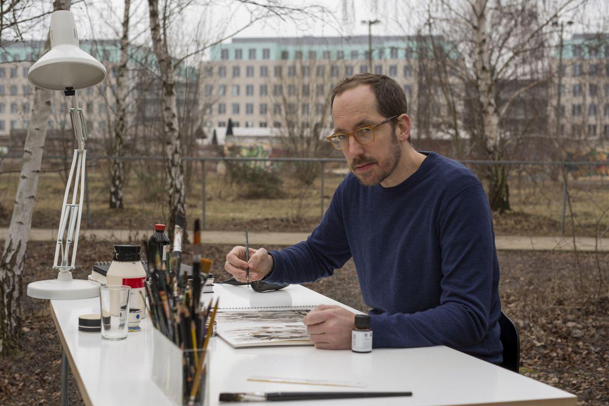 7bedb1a40e4a54 Christoph Niemann in Netflix s Abstract  The Art of Design. Kase Film  Netflix