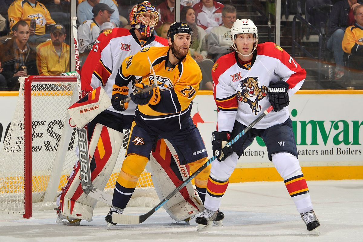 The Nashville Predators are up next for the Panthers.