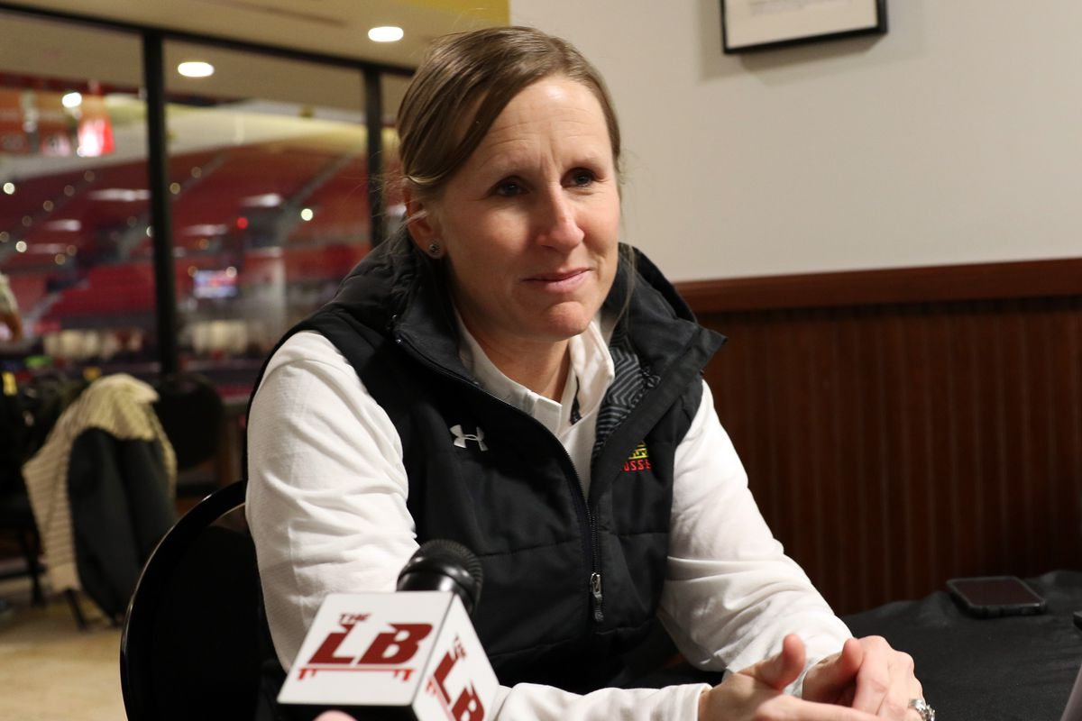 Maryland women's lacrosse coach Cathy Reese