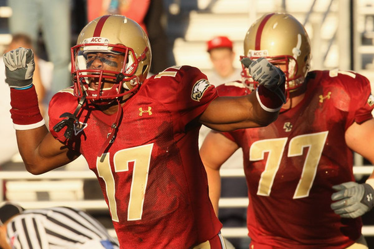 BC Football Down Two WRs With Departures Shakim Phillips Clyde