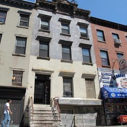 """Outside what will become the new bistro/lounge at 106 Rivington, via <a href=""""http://www.boweryboogie.com/2012/09/new-latin-bistro-lounge-for-106-rivington-street/"""">Bowery Boogie</a>."""