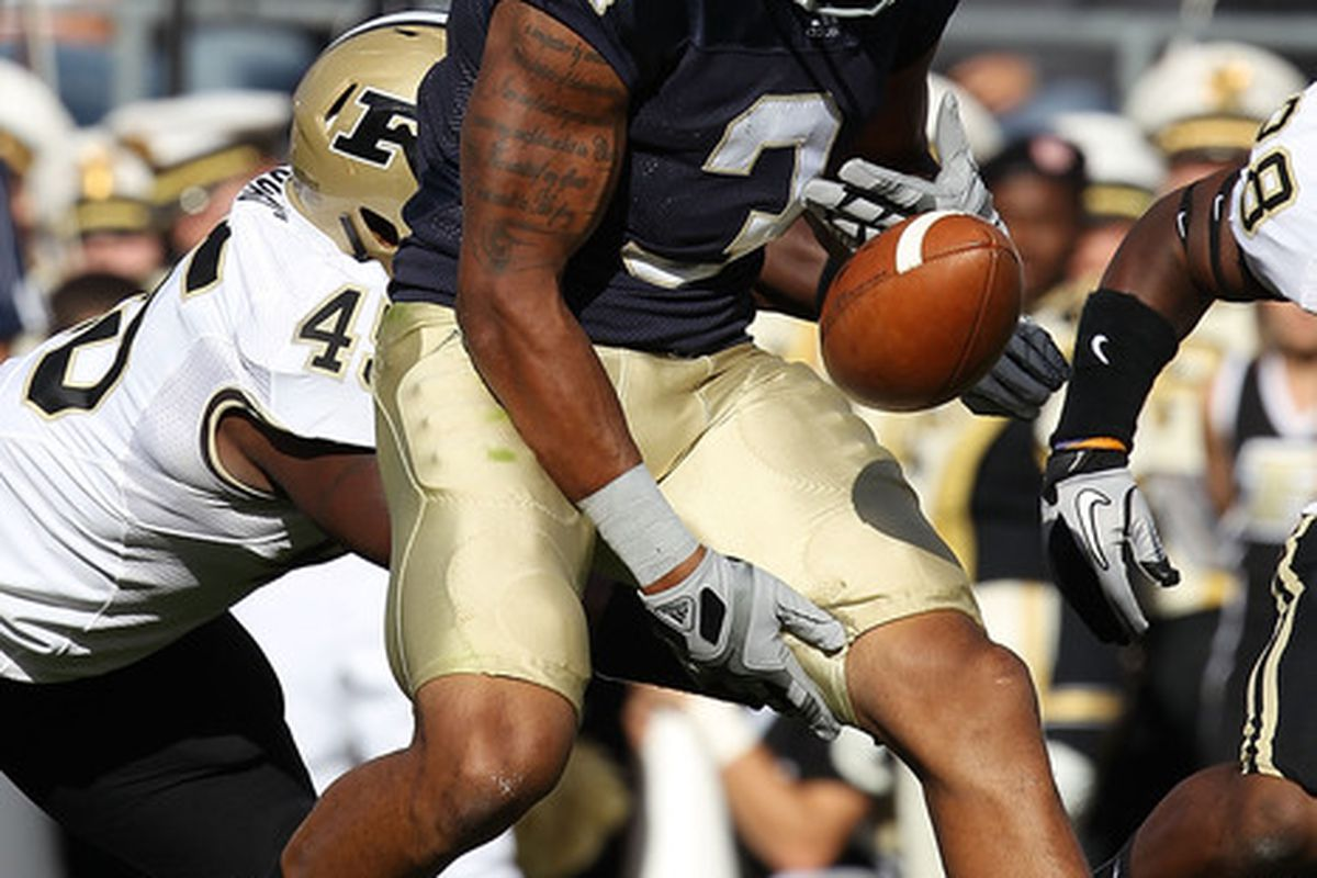 Michael Floyd's unforced fumble saved Purdue from a 27-3 deficit and allowed the Boilermakers to remain in the game.