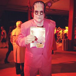 This Franken Berry guy was pretty terrifying in person.