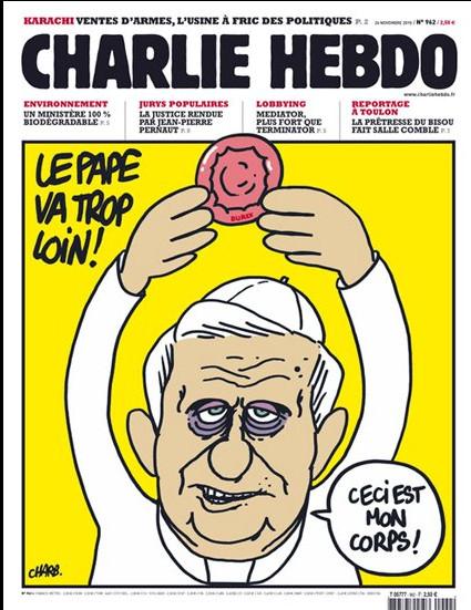 Charlie Hebdo Pope