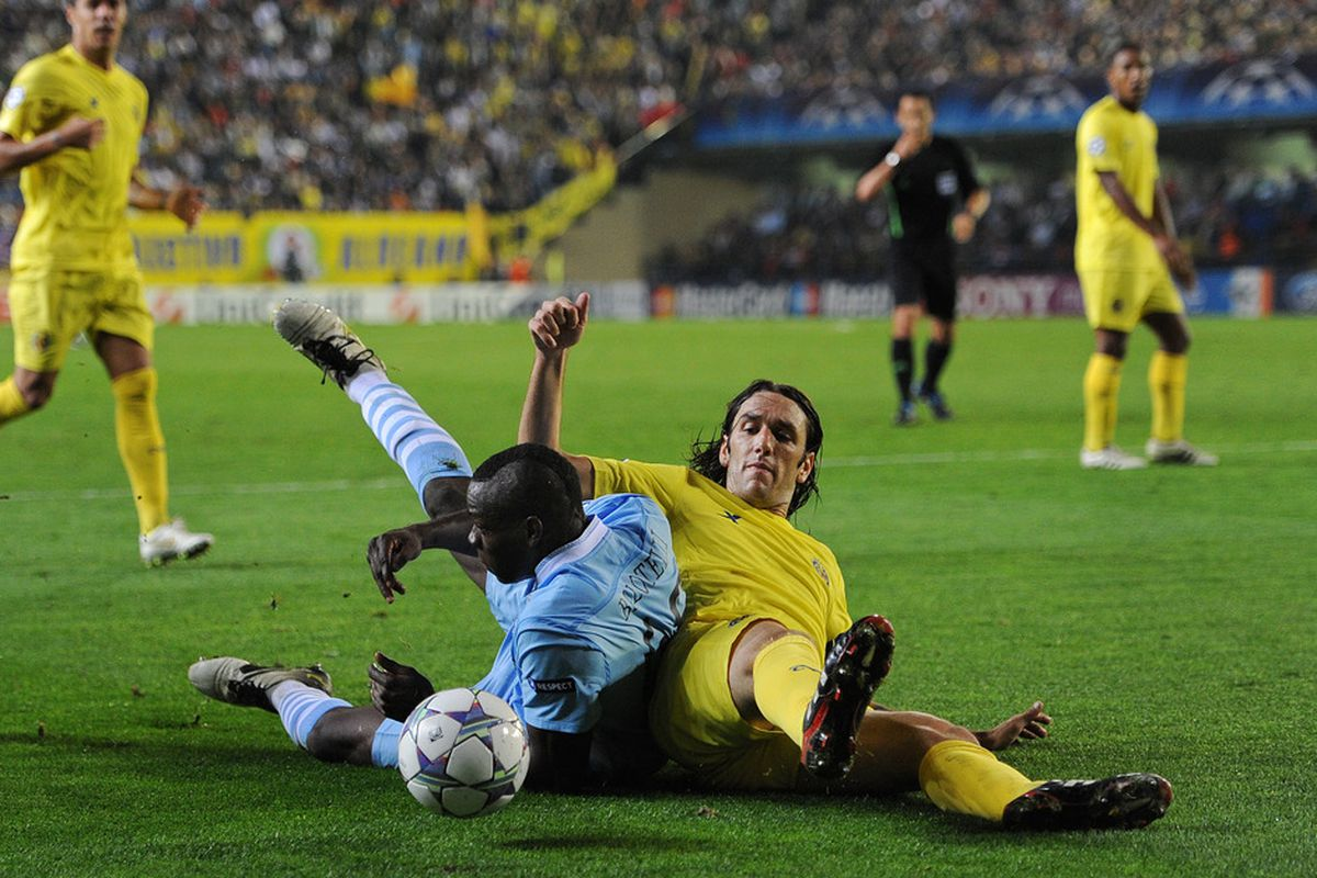 Gonza never backed out of a tackle. Hear that, JdeGuz?