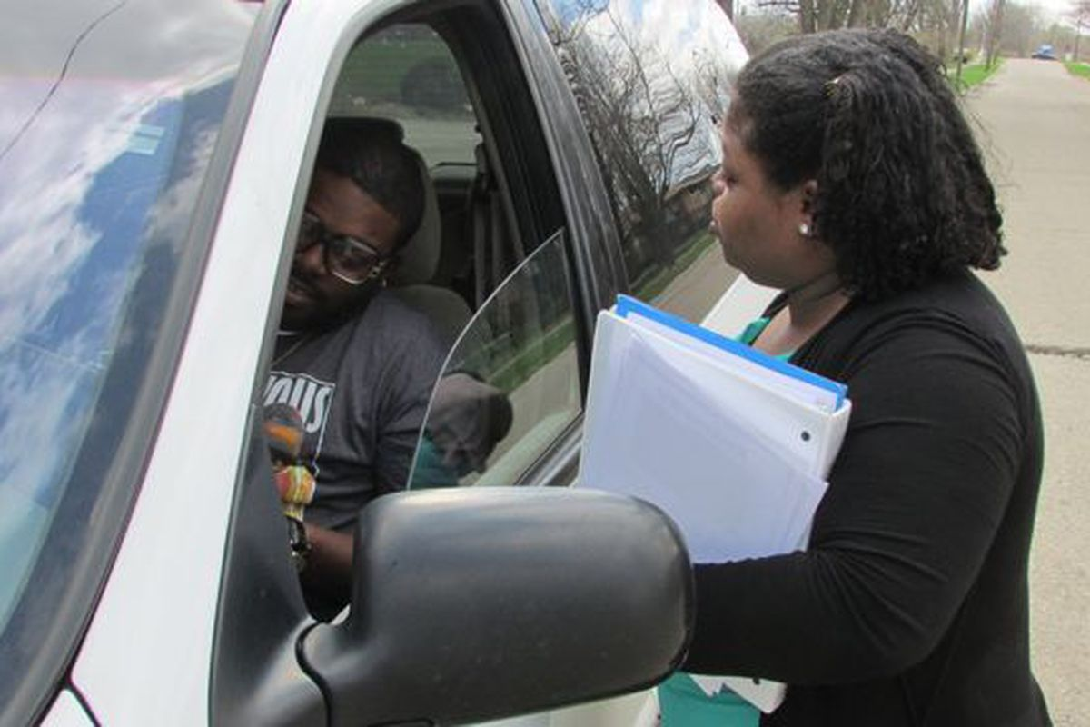 Parents like Kesha Harris gathered signatures in 2014 to bring Project Restore to School 93.