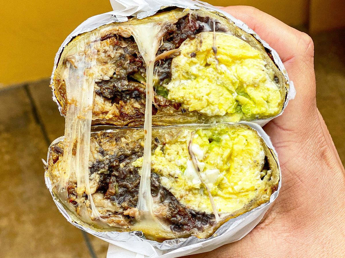 For one of LA's best breakfast burritos, promise: Angry Egret Dinette.