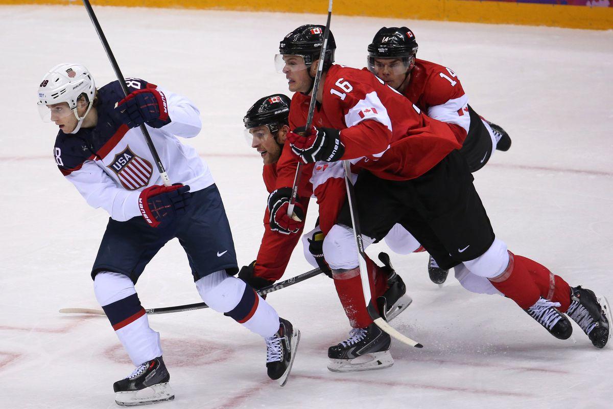 USA vs Canada Hockey
