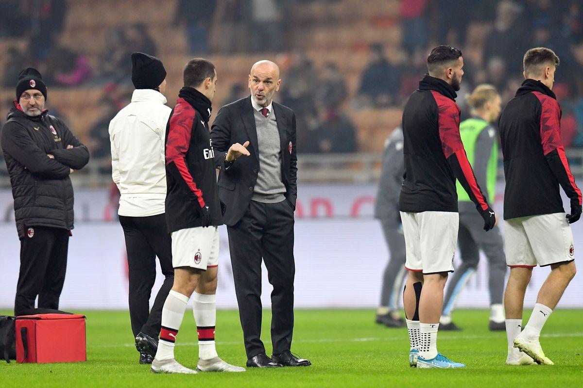 AC Milan v SPAL - Coppa Italia