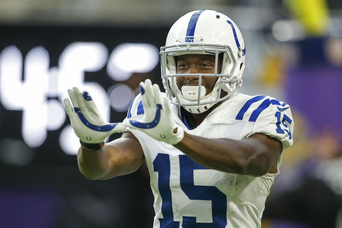 size 40 b7955 8eeab UPDATE: Colts Trade WR Phillip Dorsett for Patriots Backup ...