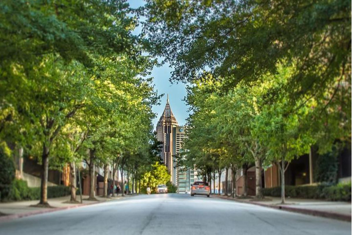Midtown — one of the most Instagrammed locations in Atlanta this year.