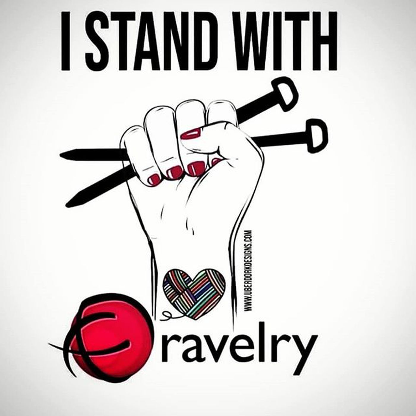 Image result for i stand with ravelry