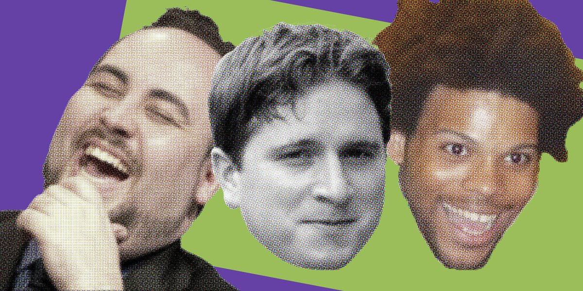 Twitch emotes LUL, Kappa, and TriHard on a green-and-Twitch-purple background