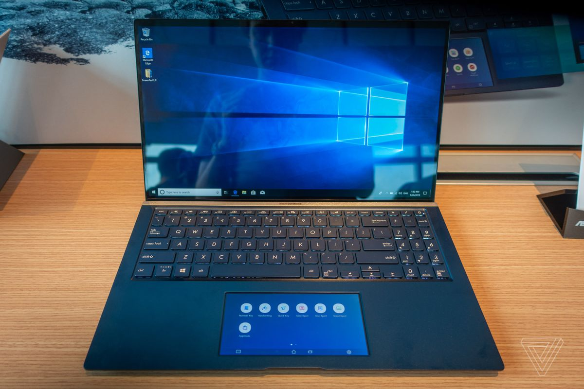Asus goes all in on touchscreen trackpads with new ZenBooks