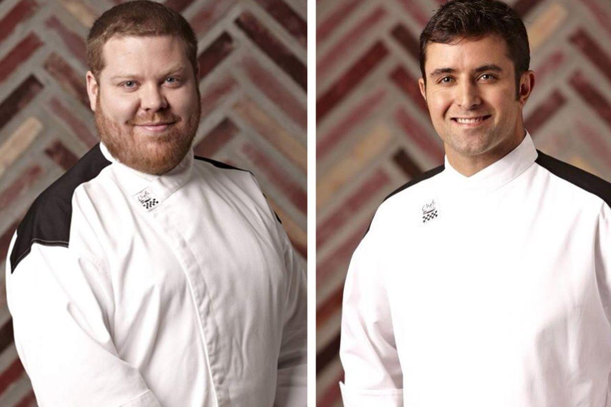 jason zepaltas and scott commings photos hells kitchen - Hells Kitchen Season 12