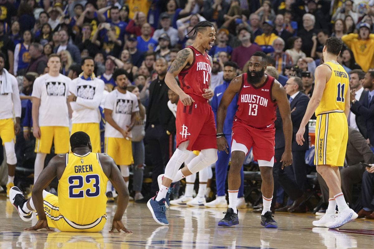 025909b92905 Warriors vs Rockets Recap  Golden State lets one slip away in a 135-134  overtime loss