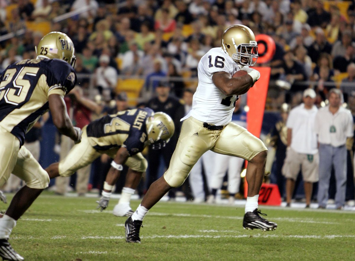 Notre Dame Fighting Irish v Pittsburgh Panthers