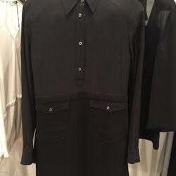 Black dress, price not marked