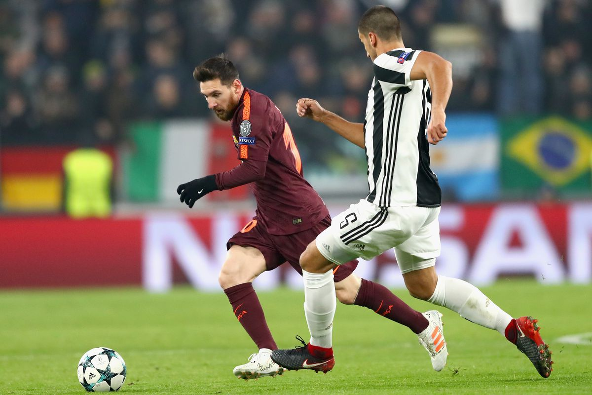 Juventus Vs Barcelona Champions League 2017 Final Score 0 0 Barcelona Advance To Knockout Rounds Sbnation Com