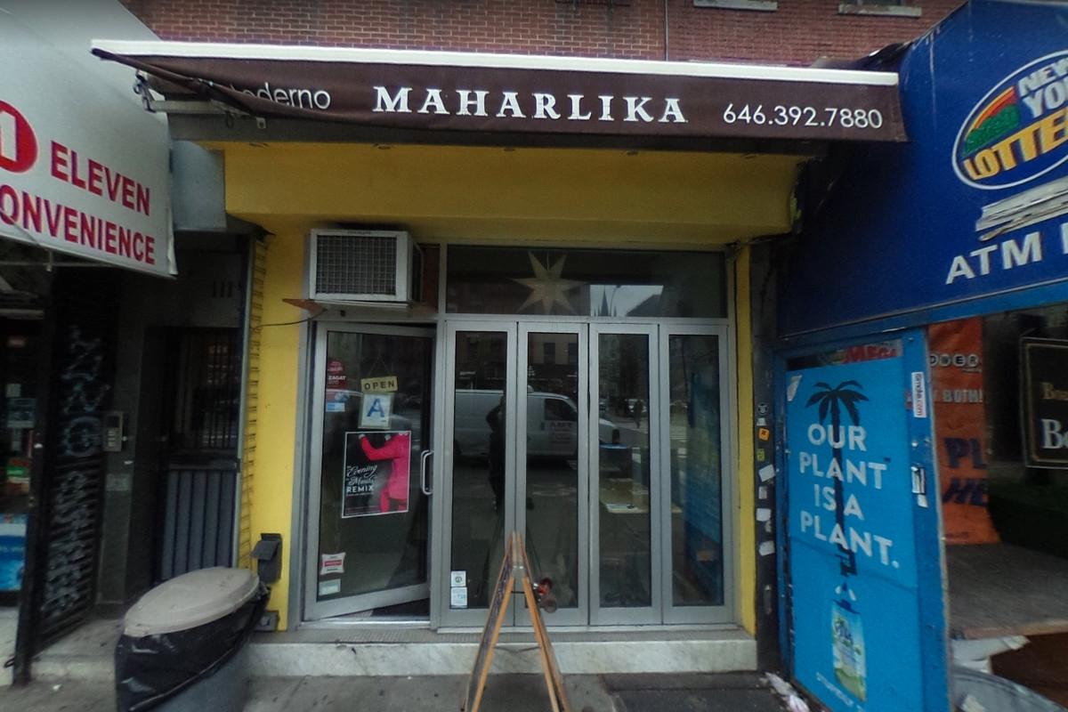 The yellow exterior of Maharlika
