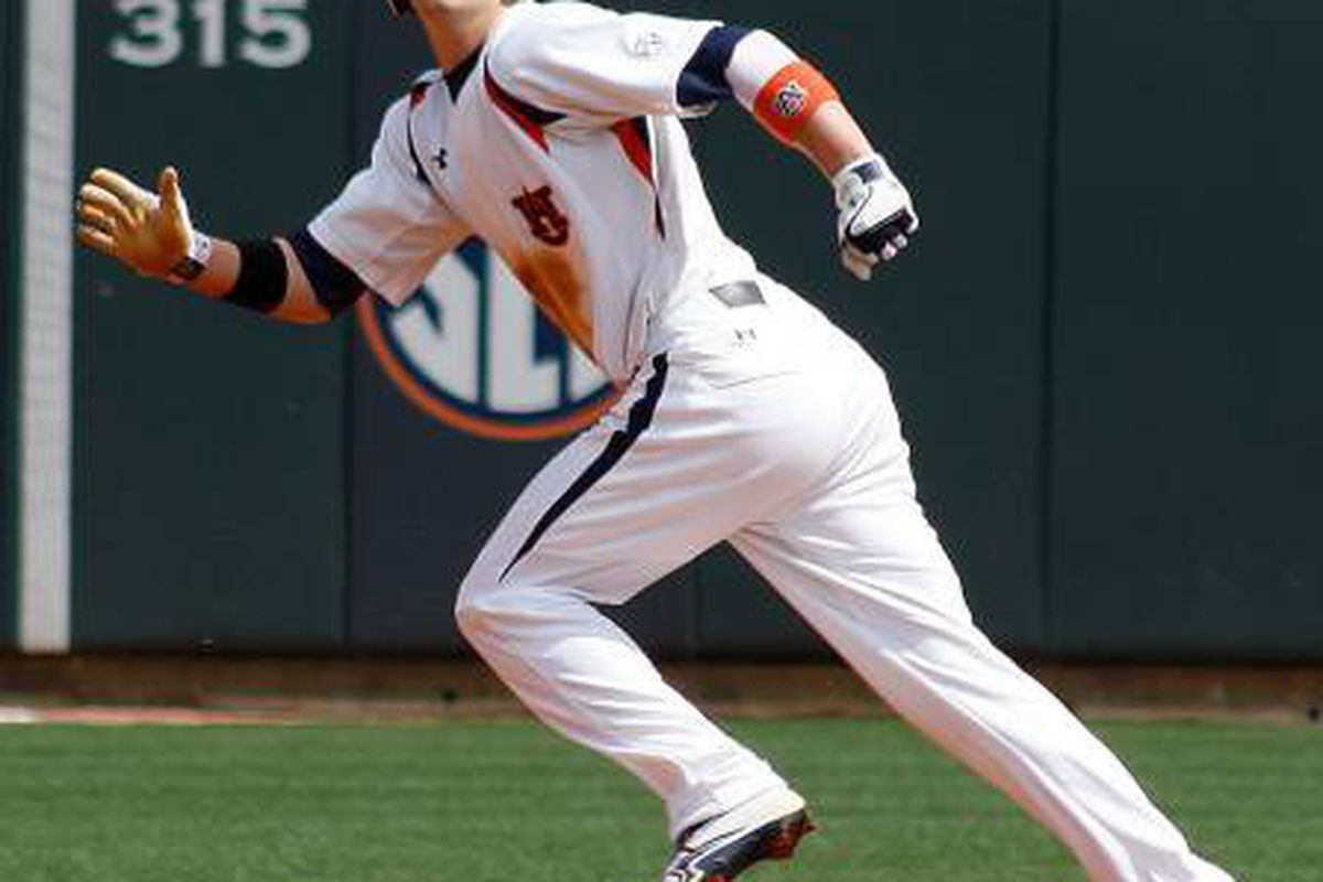 Ryan Tella was a force at the plate for Auburn during the 2012 season.