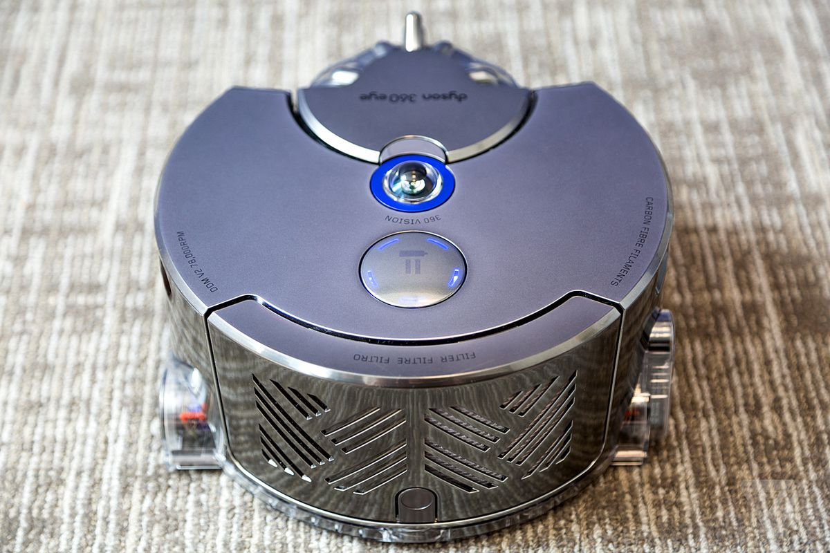 Best Robot Vacuum the dyson 360 eye is the best robotic vacuum, which is why it's