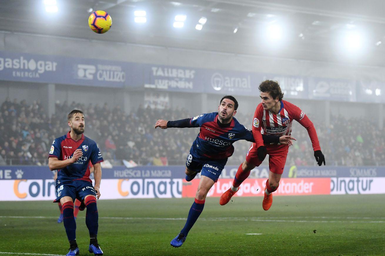 SD Huesca 0-3 Atlético Madrid: Player Ratings