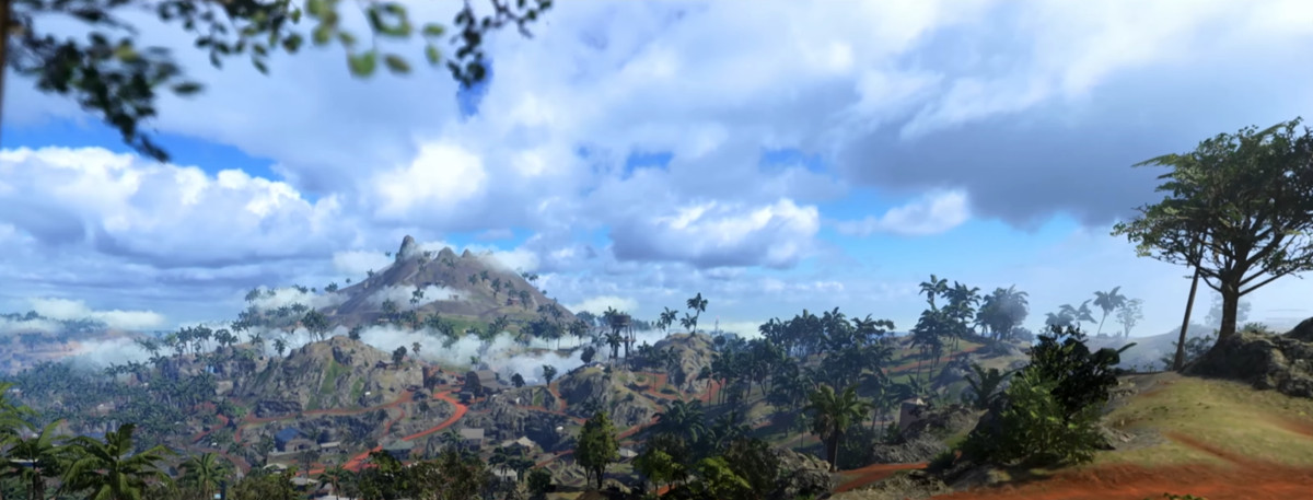 Call of Duty: Warzone's New Pacific Island Map