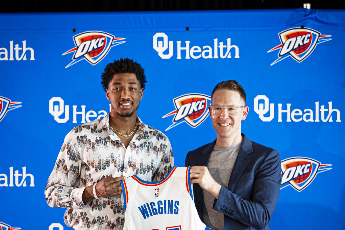 Oklahoma City Thunder Introduce Draft Picks - Press Conference