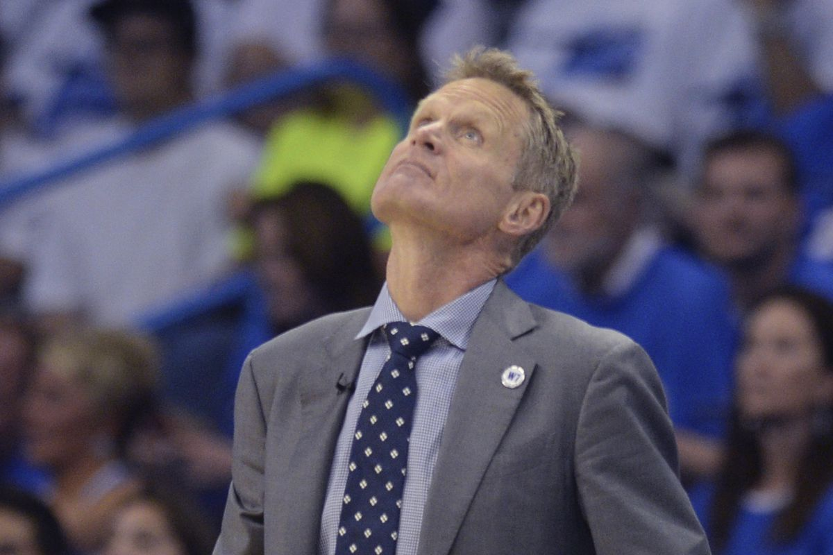 Steve Kerr searches for answers after a blowout in Oklahoma City.