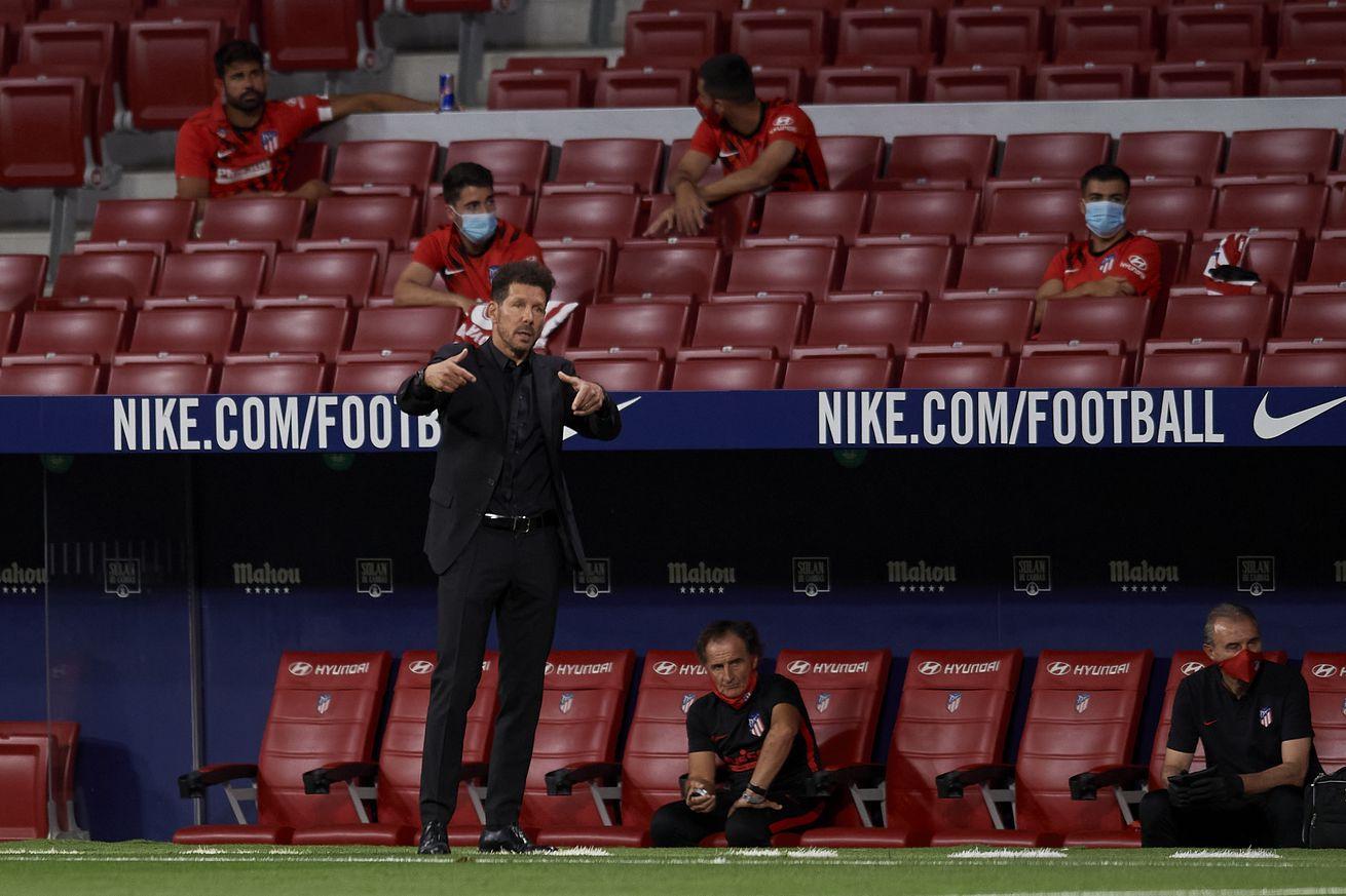 Simeone shows roadmap for post-lockdown Atlético