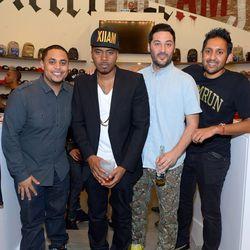Anthony Saleh, Nas, Nick Sakai and Dee Murthy.