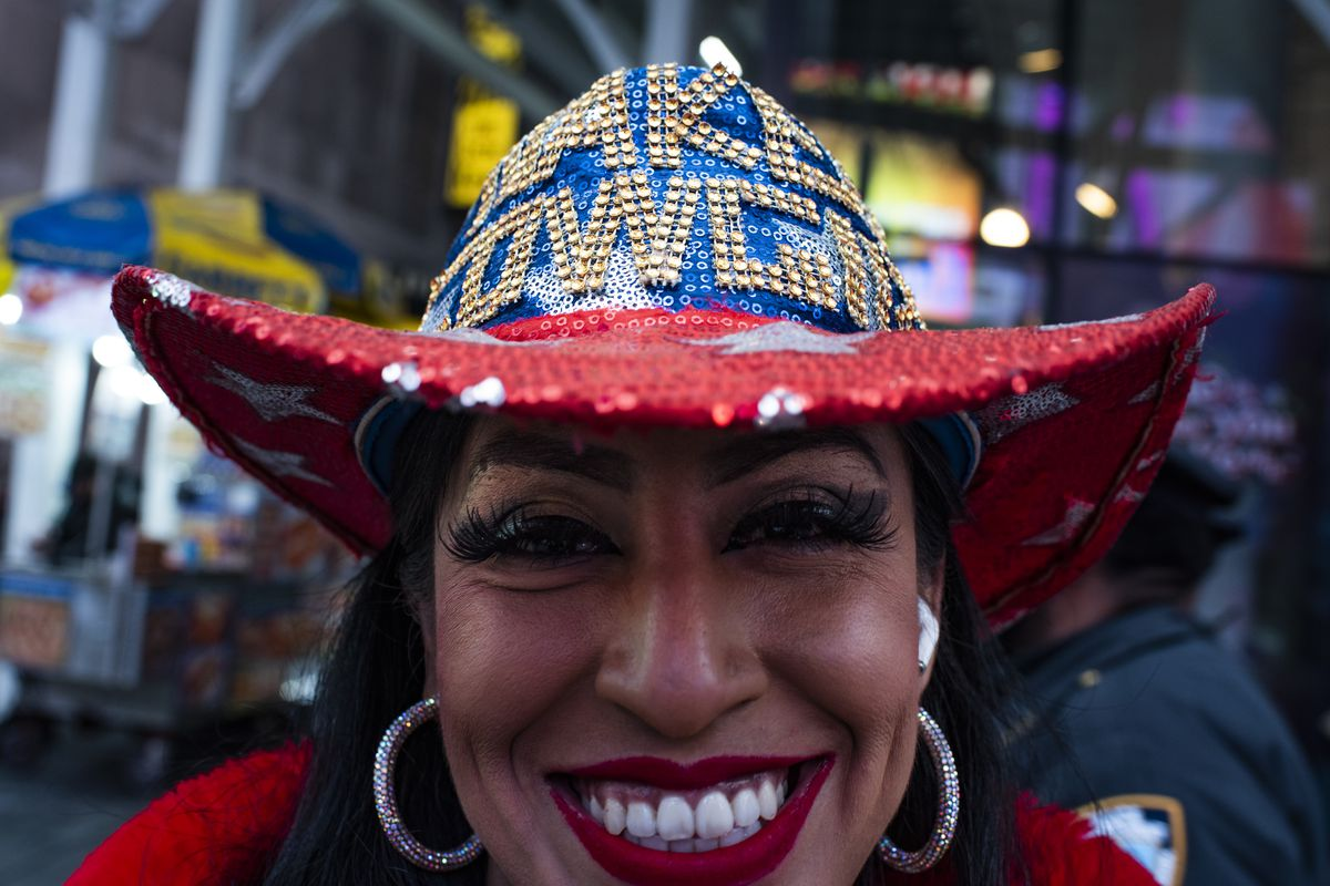"""Burck, who is married to the famed Naked Cowboy, Robert Burck, tries to be pragmatic about the disappearing business. """"There's nothing you can do about it,"""" she says."""
