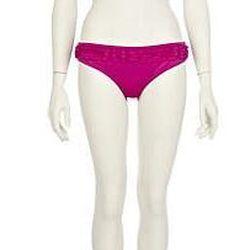 "Best Ruffle: <a href=""http://www.riverisland.com/Online/women/swimwear--beachwear/bikinis/bright-purple-frill-bandeau-bikini-top--617665"">Purple Frill bikini</a>, $31.30, River Island"