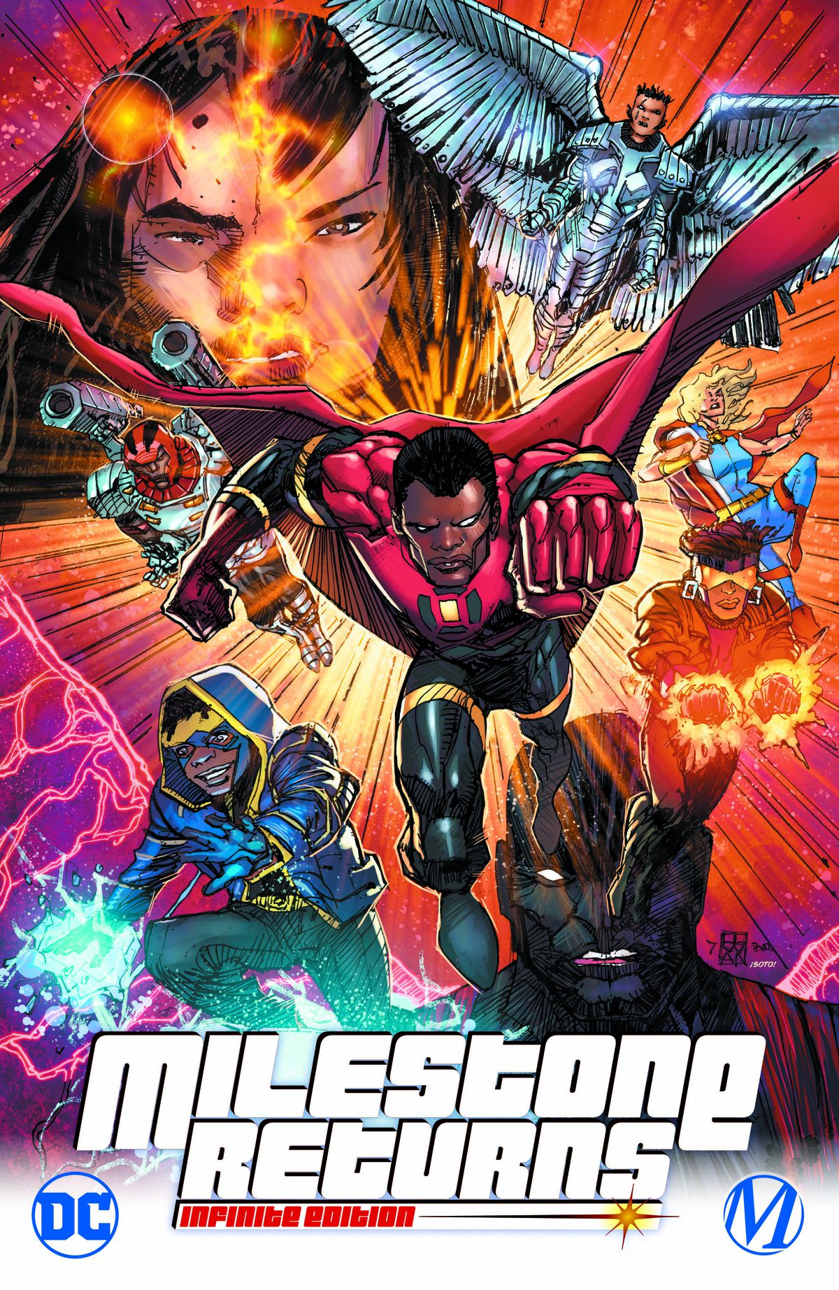 Milestone Returns comic cover