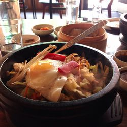 """Dulsut Style Bibimbap at Little Dokebi by <a href=""""https://www.flickr.com/photos/polsia/14281975207/in/pool-eater"""">Polsia"""