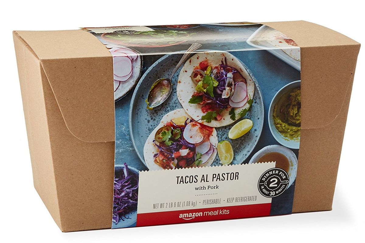 Amazon launches meal kit service
