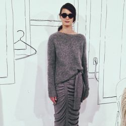 My absolute favorite look at the Band of Outsiders presentation! Such a fabulous moment when everything comes together.