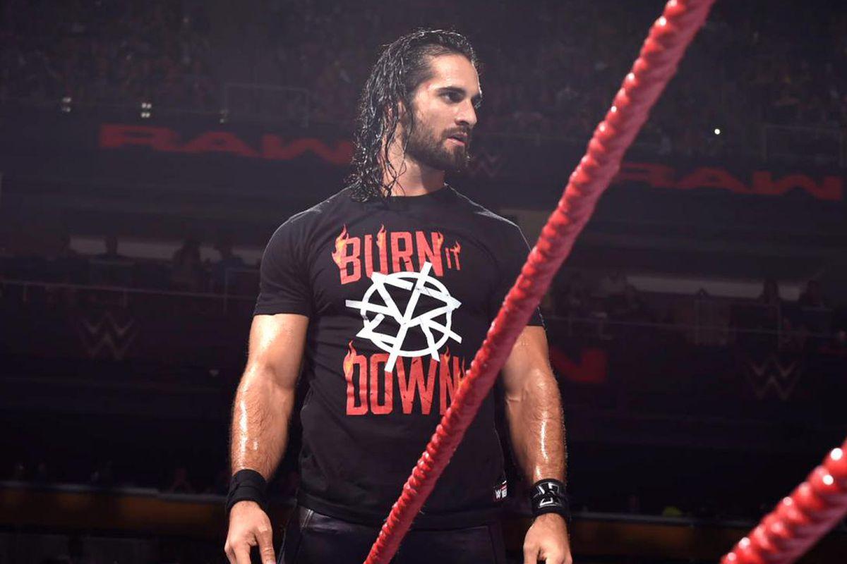 WWE Seth Rollins WrestleMania 34